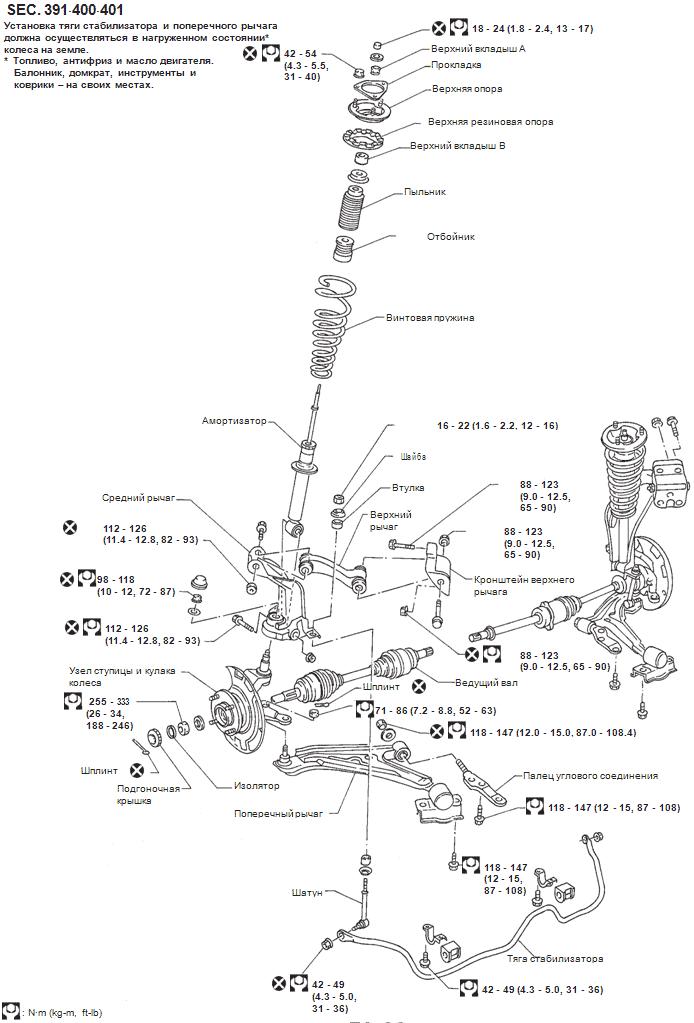 эл схема ваз 2131 Ниссан