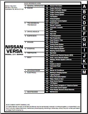 книга по обслуживанию и ремонту ниссан тиида